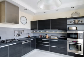This fitted kitchen was part of a large 3 bedroom flat refurbishment